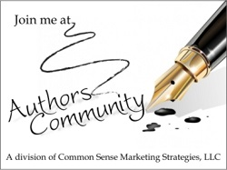 Join me at Authors Community